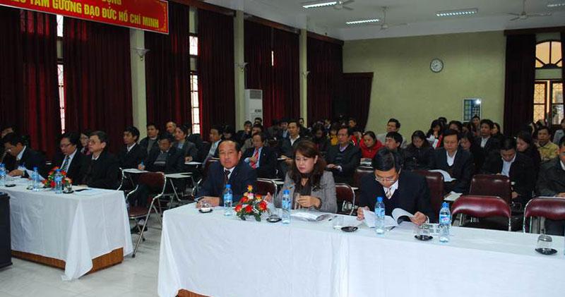 Chương trình hội thảo về hướng dẫn thực hiện công tác QL-ATVSLĐ, phòng chống BNN và Quản lý CTYT...