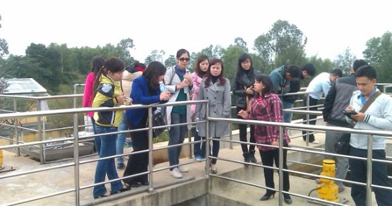 Lớp tập huấn Nâng cao năng lực kiểm soát chất lượng nước và thực hiện kế hoạch cấp nước an toàn...