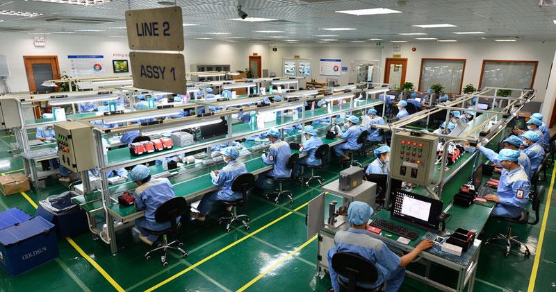Kết quả hình ảnh cho nhà máy sản xuất linh kiện điện tử