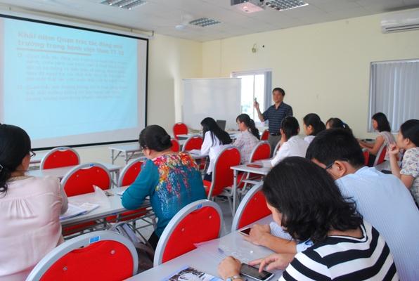 Chương trình tập huấn Hướng dẫn thực hiện quan trắc tác động môi trường trong bệnh viện theo...