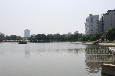 Phân vùng ô nhiễm nước mặt Thành phố Hà Nội