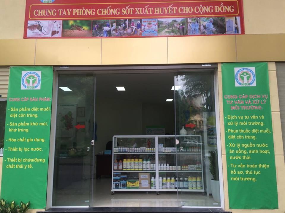 Cẩm nang đối phó sốt xuất huyết và giới thiệu một số sản phẩm phòng chống bệnh sốt xuất huyết...