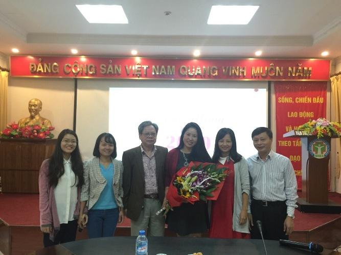 Lễ kỷ niệm chúc mừng cán bộ nhân viên nữ Viện nhân ngày Phụ nữ Việt Nam (20/10/1930-20/10/2017).