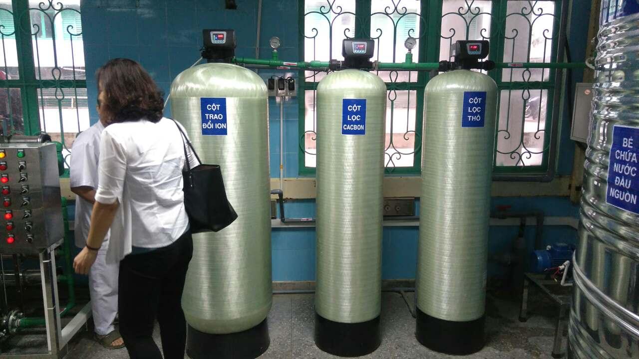 Thay đổi trong quản lý hệ thống xử lý nước RO dùng cho điều trị thận nhân tạo tại 02 bệnh viện tại Quảng Bình