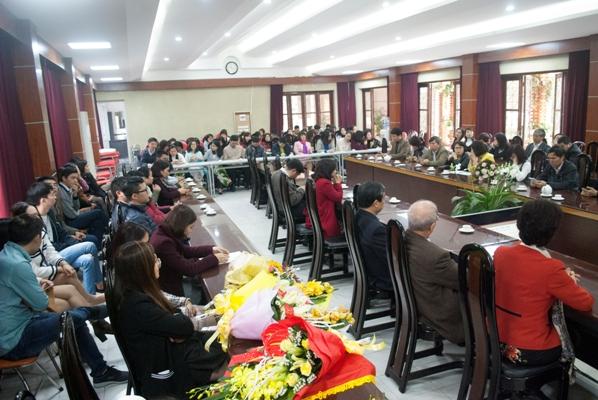 Viện Sức khỏe nghề nghiệp và môi trường kỉ niệm 63 năm ngày thầy thuốc Việt Nam.