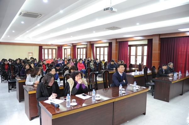 Hội nghị tổng kết công tác năm 2017, triển khai phương hướng nhiệm vụ năm 2018.