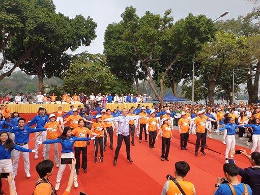 Ngày sức khỏe thế giới năm 2019 - Hưởng ứng Chương trình Sức khỏe Việt Nam và tuyên dương Thầy...