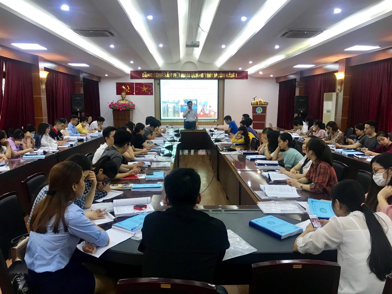 Viện Sức khỏe nghề nghiệp và môi trường tổ chức lớp đào tạo cấp chứng chỉ đào tạo Quan trắc môi trường lao động tại Viện từ ngày 07/09/2020 - 11/09/2020